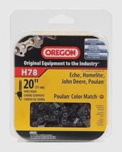 "New H78 OREGON 20"" Premium 78 drive link C-loop Saw Chain Poulan Echo Sears NIB - $25.13"