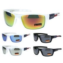 Xloop American USA Flag Arm Rectangular Warp Sunglasses - $9.95