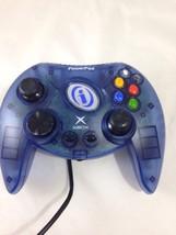 Powerpad I210200MZ0 Translucent Blue Original Xbox Controller - $9.89