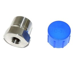 """New Parker PC-3/4 Connector 1/4"""" Female Thread To 3/4"""" Male Thread - $35.00"""