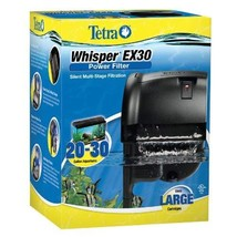 Tetra Whisper EX Silent Multi-Stage Power Filter for Aquariums - $34.65