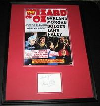 Mervyn Leroy Signed Framed 18x24 Photo Display JSA Wizard of Oz Producer - $373.99