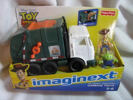 Disney. Pixar. Toy Story. Imaginext.Tri-County Sanitation Garbage Truck.... - $110.00