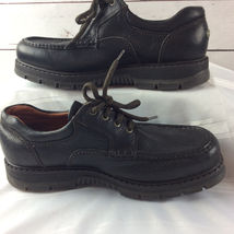 Shoes EW Leather Puppies Loafer Hush Oxford 11 Black Up Lace Mens 5 1Xq5wxwa7