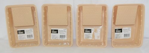 Project Source 0172223 Mini Roller Tray Four Pack 8 By 6