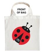 Ladybug Trick or Treat Bag - Personalized Ladybug Halloween Bag - $11.99+