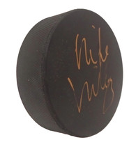 Boston Bruins Mike Milbury Signed Autographed Hockey Puck NY Islanders Proof COA - $69.29