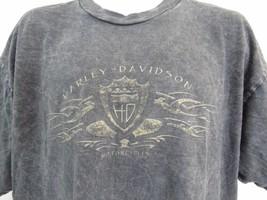 Harley Davidson Motos Neuf Richmond Wisconsin Gris T-Shirt Hommes XL B5 image 2
