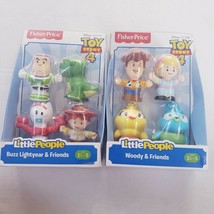 Fisher Price Little People Toy Story 4 Buzz Lightyear + Woody & Friends  - $19.39