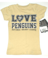 NHL Pittsburgh Penguins Hockey Toddler Girls T-Shirts Size 2T, 3T and 4T... - $14.99