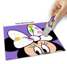 NEW Disney Junior Minnie Mouse Dot to Dot Sticker Paint Art Activity Kit Ages 3+ image 3
