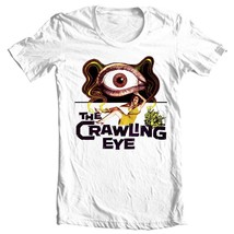 The Crawling Eye T-shirt classic science fiction movie free shipping cotton tee image 1