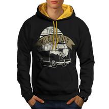 The Vacation Van Sweatshirt Hoody Holiday Men Contrast Hoodie - $23.99+