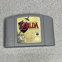 The Legend of Zelda OCARINA OF TIME Nintendo 64 N64 AUTHENTIC OEM 1997 T... - $39.55