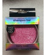 Body and Earth Shampoo Bar Nourishing Hair Care Berry Bliss Travel Pack - $6.92