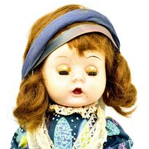"Vintage 1950s Arranbee R&B Littlest Angel? Jointed Knee Walking Walker 11"" Doll image 3"
