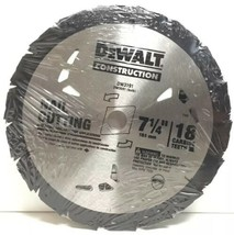 "(New) DEWALT DW3191 Carbide Circular Saw Blade 7-1/4"" 18T  Lot of 4 - $75.23"