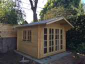 Primary image for Pre fabricated natural wood cabin kits can be used as: guest house, office, gym,