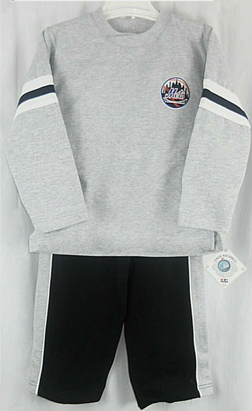 Primary image for New York Mets Child Kids Sweatshirt and Sweatpants 2PC Set SZ 6