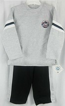 New York Mets Child Kids Sweatshirt and Sweatpants 2PC Set SZ 6 - $12.82