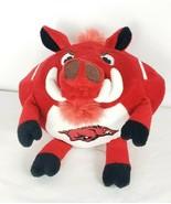 """Arkansas Razorbacks Hog Stofftier Plüsch Tier Rot Orbiez 7 """" Football-Sh... - $16.82"""