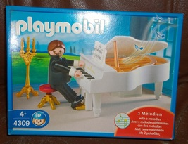 NEW Playmobil 4309 Grand Piano Wedding Pianist Church MIB - $65.00