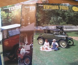 "Lot of 4 The Vintage Ford Magazines 1987 Model ""T"" Club - $22.59"