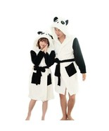 Panda Cartoon Women's Long Robes Sexy Animal Stitch Sleep Bathrobe Night... - $35.00