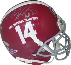 Dre Kirkpatrick signed Alabama Crimson Tide Authentic Schutt Mini Helmet... - $44.95
