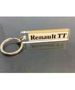 New Vintage Car Dealer Promo Keyring RENAULT TT Keychain Ancien Porte-Cl... - $10.53