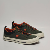 Womens Converse One Star OX Low Top Green Sneakers Leather 162544C NWOB - $39.58