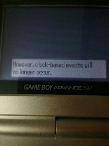 Pokemon Sapphire Authentic Game Boy Advance No Label image 7
