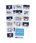 2015 49c Charlie Brown Christmas, Booklet of 20 Scott 5021-30 Mint F/VF NH - $20.00