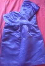 ABS by Allen Schwartz purple Exaggerated one shoulder formal dress size 12 - $18.81