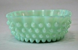 Rare Fenton Pastel Green Hobnail Berry Dish # 3928GP 1954-1956 - $49.50