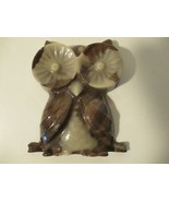 "Vintage Lucite 5"" Brown Owl - $12.86"
