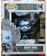 Funko POP Game of Thrones Metallic Night King Sitting on Throne 74 HBO E... - $199.99