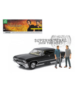 1967 Chevrolet Impala Sport Sedan with Sam and Dean Figures Supernatural... - $116.99