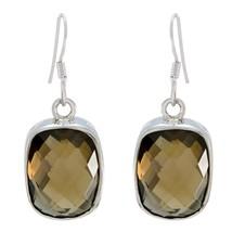 indian 925 Sterling Silver pulchritudinous genuine Brown Earring gift UK - $22.28