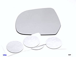 Fits 11-17  Leaf Left Driver Side Heated Mirror Glass Lens w/Adhesive - $32.87