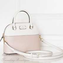 NWT Kate Spade Grove Street Mini Carli Satchel Leather Crossbody Bag WKR... - €111,08 EUR