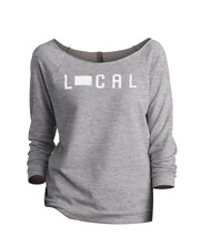 Thread Tank Local South Dakota State Women's Slouchy 3/4 Sleeves Raglan Sweatshi - $24.99+