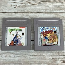 Lot of 2 Nintendo Game Boy Bugs Bunny Crazy Castle Ren & Stimpy Veediots - $14.80