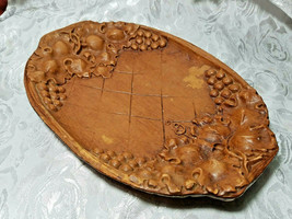 Vintage Burwood Tray Bowl Dish Grapes and Leaves image 2