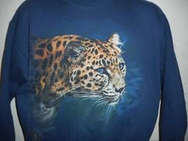 Vintage World Issue 90s Leopard Sweatshirt Medium - $24.99