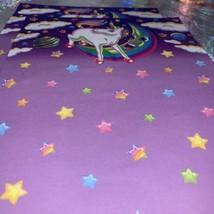 3 Sheets Vintage Lisa Frank Markie The Unicorn Stationery EXC COND HTF image 2