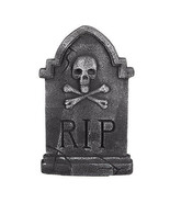 Darice Halloween Tombstone Decoration: Skull/Crossbones, 9.25 x 14.5 inches w - $8.99