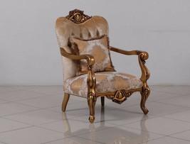 Golden Knights Victorian Luxury Chair - $1,799.09
