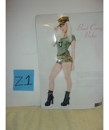 Adult Sexy Playboy Army Girl Costume - $29.99