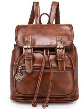 Angelliu Women's Vintage Retro Style PU Leather College School Bag Casua... - $75.85